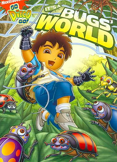 GO, DIEGO, GO!:IT'S A BUG'S WORLD BY GO DIEGO GO (DVD)